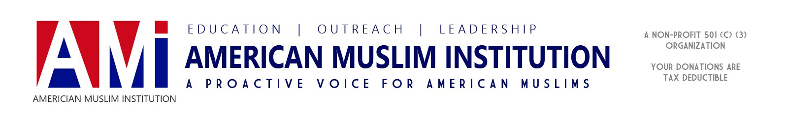 American Muslim Institution – A proactive voice for American Muslims